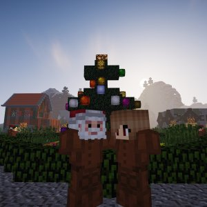 Angel and Santa Clause